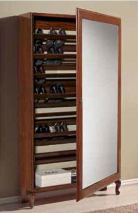 Obrázek Botník - dveře zrcadlo