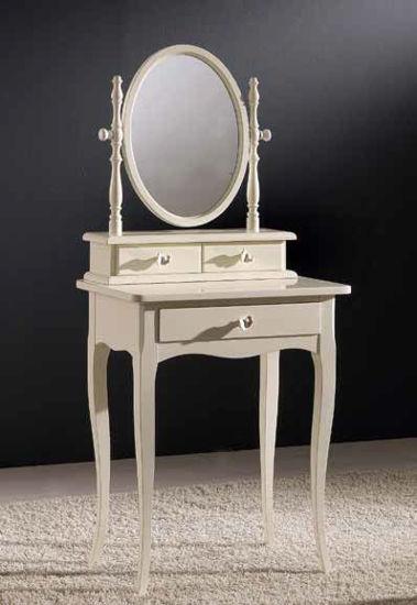 Obrázek Stolek se zrcadlem a šuplíky