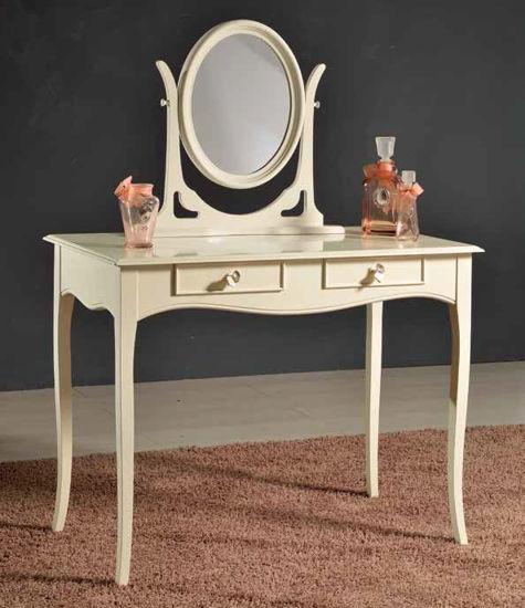 Obrázek Stolek + zrcadlo