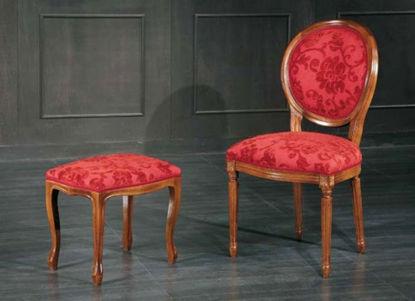 Obrázek Židle - Ludvík XVI + podnožka