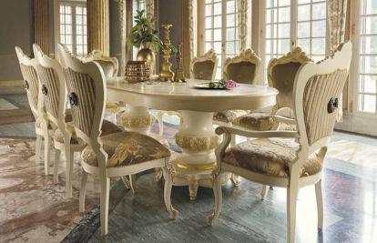 Obrázek Stylový stůl, židle OPERA