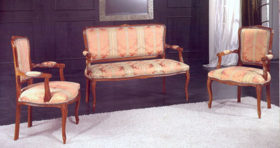 Obrázek Sestava sedačka + křesla 2ks
