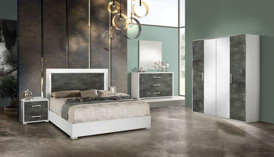 Obrázek Ložnice Denise white oxide 3