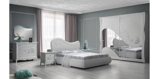 Ložnice Anastasia bílá.