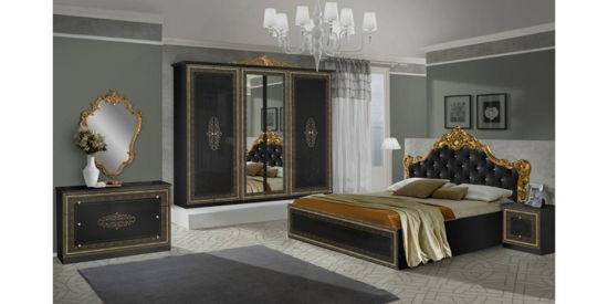Ložnice Anetta černá.